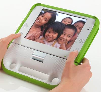 OLPC as an E-Book