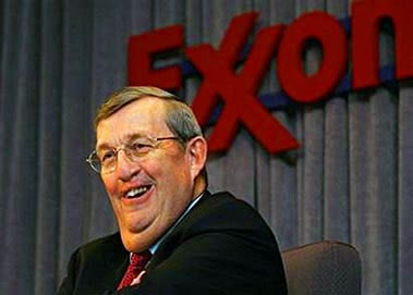 Exxon CEO Lee Raymond