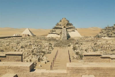 The Pyramids in 10,000 B.C.